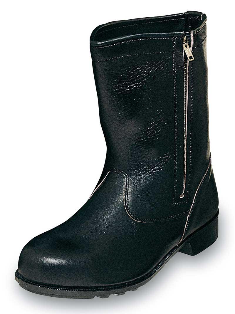 CH311安全靴半長靴チャック付
