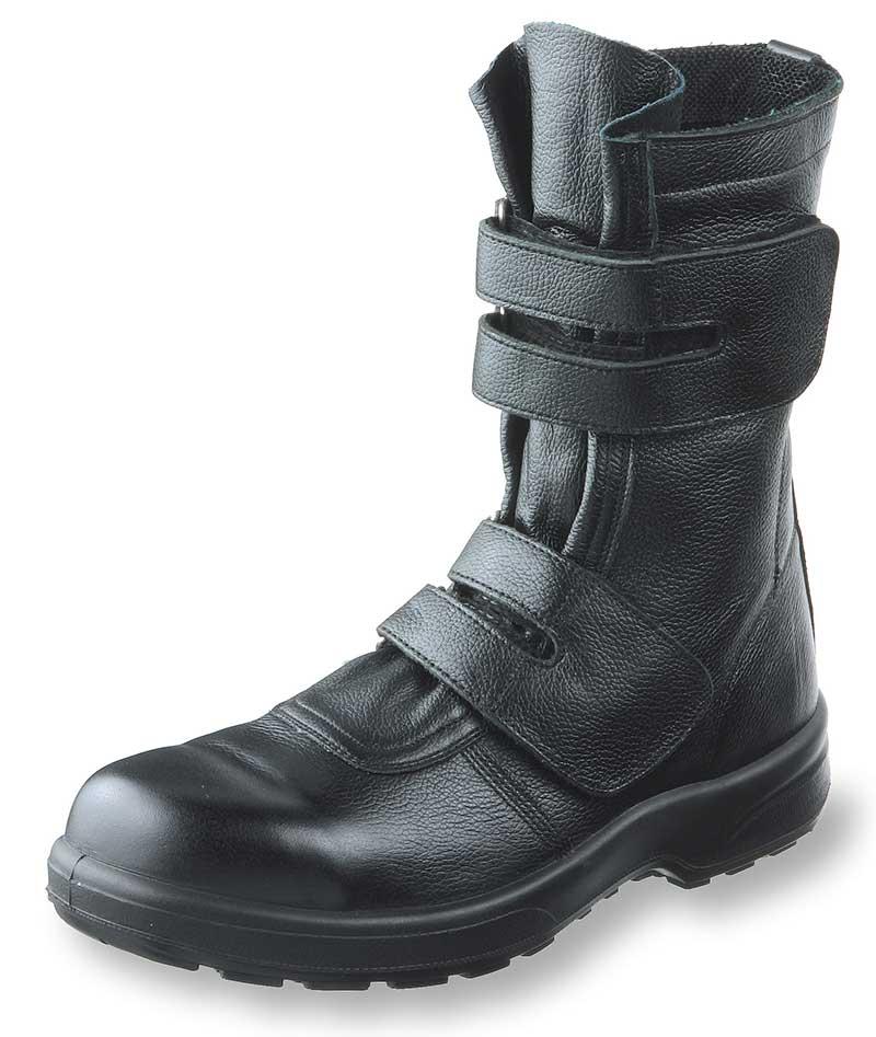 AZ609安全靴半長マジック先樹脂芯